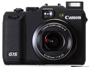 Canon G15 front